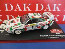 Die cast 1/43 Modellino Auto Toyota Celica GT4 Rally Monte Carlo 1995 Kankkunen