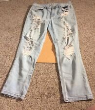 Garage Girlfriend Ripped Pants Pre-owned Size 11