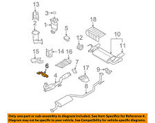 NISSAN OEM 03-07 Murano 3.5L-V6 Exhaust-Front Pipe Bracket 20711CA020