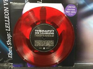"""Therapy? Die Laughing 7"""" Limited Edition Red Vinyl Single 580588 Pop 90's"""