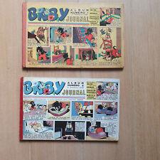 CALVO  BABY JOURNAL 2 reliures 1 et 2 1948