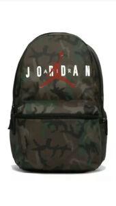 New NIKE AIR JORDAN Camo Jumpman Classic Backpack School Sports Bag