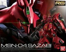 GUNDAM 1/144 MSN-04 SAZABI NEO ZEON CHAR Real Grade Model Kit Robot Bandai RG 29
