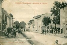 Carte SAULCE SUR RHONE Direction de Valence Bien animé