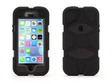 Griffin Gb39732 Black Survivor Protective Case Cover & Belt Clip for Iphone5