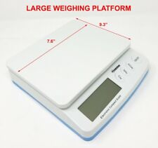 DIGITAL SHIPPING SCALE POSTAL SCALE 66 LBS CAPACITY w/ AC ADAPTER