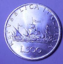 REPUBBLICA ITALIANA 500 Lire Caravelle 1968   FDC