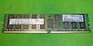 HP SKhynix 16GB 2Rx4 PC4-2133P DDR4 ECC REG SERVER MEMORY 752369-081  @6