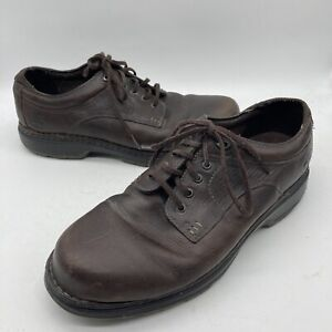 Timberland Men Brown Leather Madison Summit 29511 Oxford Dress Casual Shoe 11 W