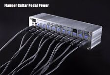 Flanger 10 Isolated Outputs DC 9V / 12V / 18V Guitar Effect Pedal Power Supply