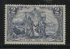 1900 Germany 2 Mark North & South  issue  mint*, type 2, $ 293.00