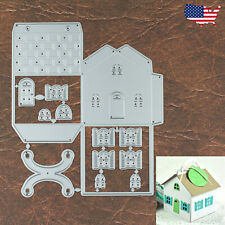 Folding House Gift Box Cutting and Embossing Dies