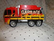 """Toy State Garbage Truck Sound Mute Button Road Rippers Vehicle 15"""" Toy"""