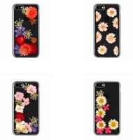 for iPhone SE 2020, iPhone 8/7/6S Case, FLAVR Real Flower iPlate Clear Case