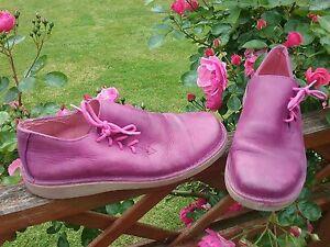 Babies- Chaussures cuir-T 38 -   fushia violine