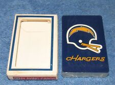 Vintage 1969 San Diego Chargers NFL Poker Playing Cards - NEW OLD STOCK