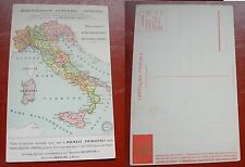 CARTOLINA PUBBLICITARIA ASSICURAZIONI GENERALI VENEZIA ANNI '20-30