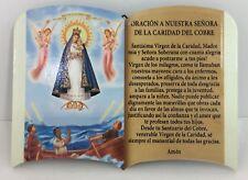 Oracion A Nuestra Senora de la caridad del Cobre ( Para Mesa o Pared) 6x4 New