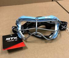 STX Women's Focus-S Lacrosse Goggles Columbia Blue