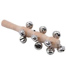 Wooden Rattle Baby Children Handbell Developmental Infant Bed Bell Toys S