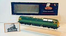 BACHMANN 00 GAUGE - CLASS 47 DIESEL 1765 BR GREEN YELLOW PANELS DCC FITTED!