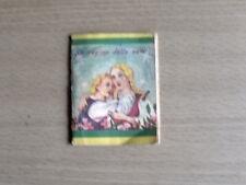Vecchio Mini Libro di Fiabe LA REGINA DELLE NEVI ed. Vecchi 1952 [AF13]