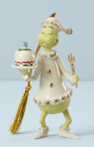 Lenox ~ Grinch Serves the Feast ~ 2020 Annual Grinch Ornament Dr Seuss BRAND NEW