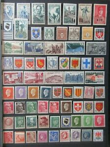 FRANCE timbres N° divers neuf ** en bon état lot XR05