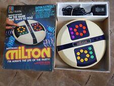 VINTAGE MB  MILTON ELECTRONIC GAME