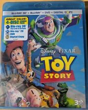 NEW Disney Toy Story 1 3D BLUERAY & DVD NO DIGITAL Kids Cartoon movie