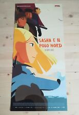 Locandina Film SASHA E IL POLO NORD (2017)  Poster Movie Originale Cinema 33x70