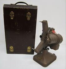 Vtg Keystone Model K-108 Movie Film Projector Regular 8MM Variable Speed W/ Case
