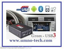 Volvo s40, s60, v70, s80, xc70 avec HU-xxx, Grom usb3 iPhone Android mp3 AUX IN INTERFACE