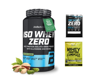 BioTech USA Iso Whey Zero Lactose Free (Isolate) 908g FREE SHIPPING