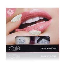 Ciate Shell Manicure Kit Wish Upon A Starfish Crushed Shells + Halo Nail Polish
