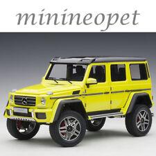 AUTOart 76319 MERCEDES BENZ G 500 4 x 4 2 1/18 MODEL CAR ELECTRIC BEAM / YELLOW