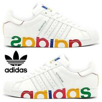 Adidas Originals Superstar Sneakers Men's Casual Shoes Running White Multicolor