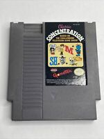 Classic Concentration NES Cleaned & Tested Nintendo Authentic