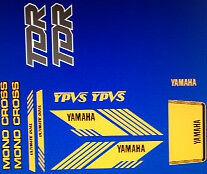 YAMAHA TDR250 DECAL SET