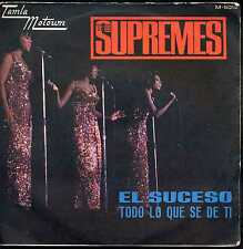 7inch THE SUPREMES the happening / el suceso RARE SPAIN 60'S +PS EX