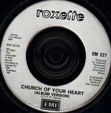 "ROXETTE church of your heart/roxette megamix EM 227 uk emi 1991 7"" WS EX/"