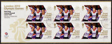 GREAT BRITAIN LONDON 2012 CYCLING TRACK WOMENS TEAM MINISHEET F.USED OLYMPICS