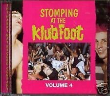 Stomping At The Klub Foot 4 CD NEW SEALED Psychobilly Guana Batz/Frenzy/Restless
