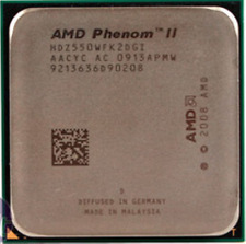 AMD CPU Phenom II X2 550 Black Edition 3.1GHZ Socket AM3  HDZ550WFK2DGI
