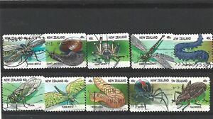 New Zealand 1997 Creepy Crawlies Set Fine Used
