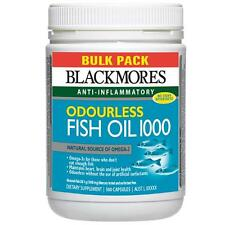 Blackmores Odourless Fish Oil 1000mg Bulk Pack 500 Capsules
