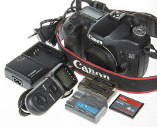 Canon EOS 50D DSLR +2 x batt. +Extended FW +Video Rec. +4Gb CF *good condition*
