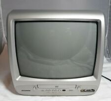 "SYLVANIA 6513DG 13"" TV DVD Player Combo, No remote!! **Retro Gaming CRT**"