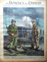 La Domenica del Corriere 15 Luglio 1951 Corea Coppi Sansone Castello Sforzesco