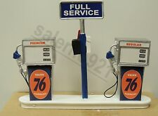 Union 76 Gasoline Station Gas Pump Island(Ready to Display) 1:18 to 1:24 NWB